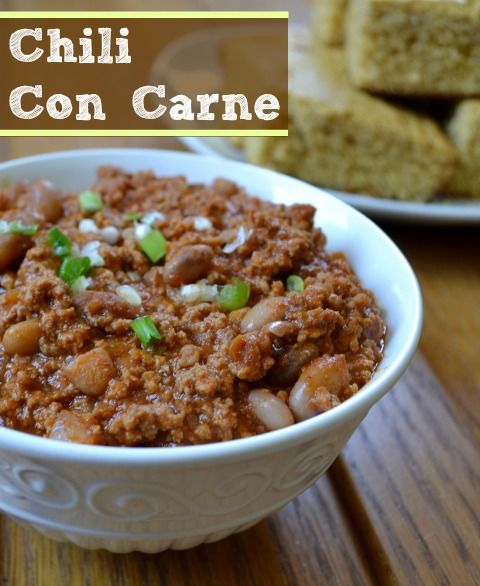 Chili con Carne | Real Food Real Deals #healthy #recipe