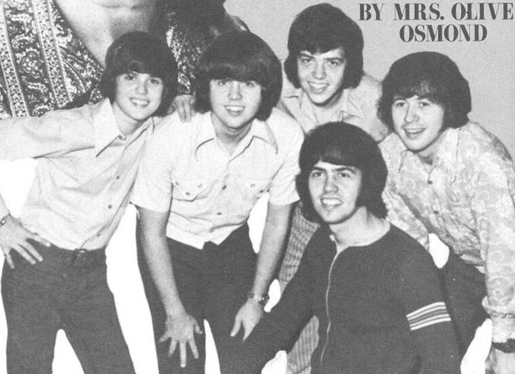 osmond brothers | Osmond Brothers... | Artists I Love | Pinterest