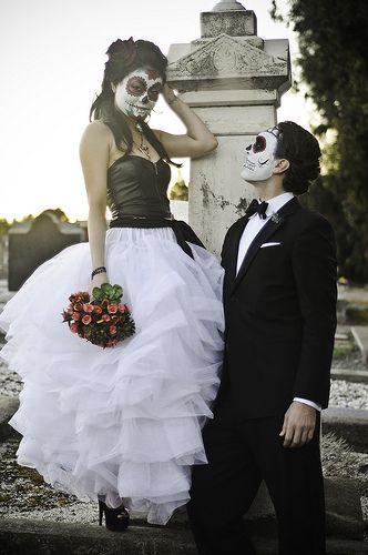 dia del los muertos wedding