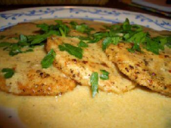 Kalyn's Kitchen: Turkey Cutlets with Dijon Sauce Recipe