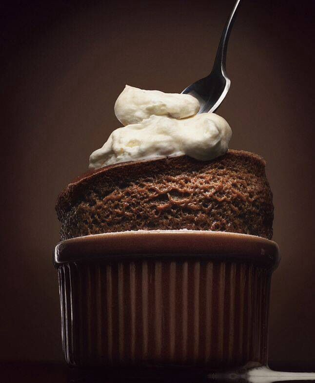 Chocolate soufflé• | Food&Beverage | Pinterest