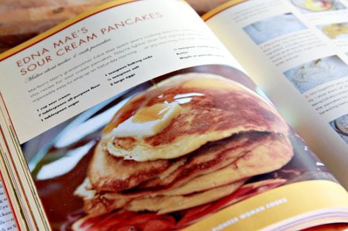 Edna Mae's Sour Cream Pancakes from The Pioneer Woman