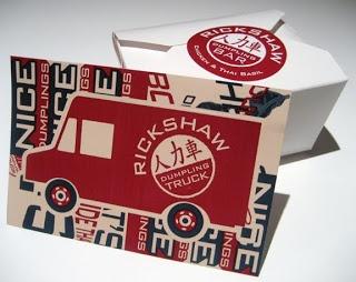 Rickshaw Dumpling Truck. | Food Truck Cheat Sheet | Pinterest