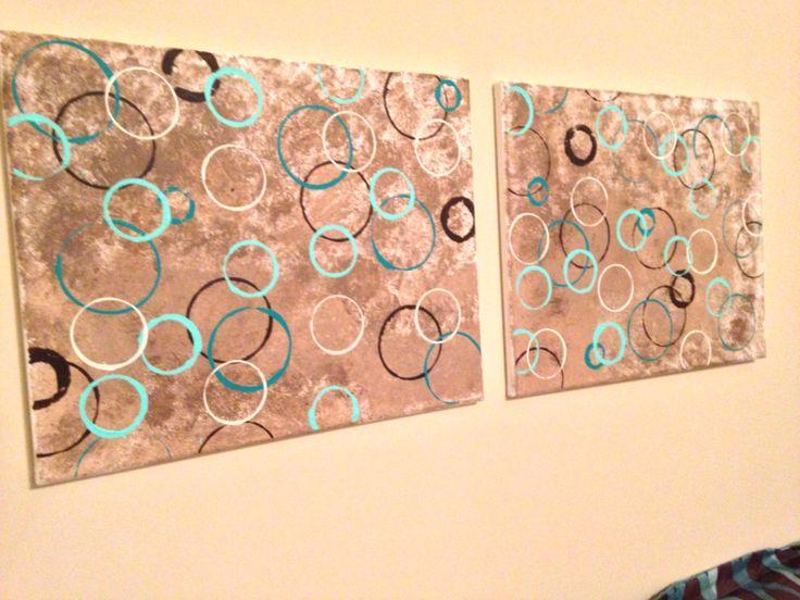 diy canvas wall art diy pinterest