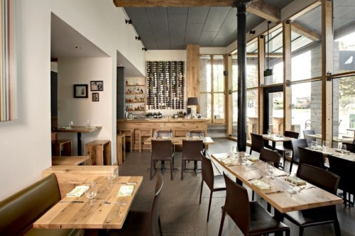 Cafe in The Green Building, #LEED Platinum, Louisville, Kentucky by @ferstudio