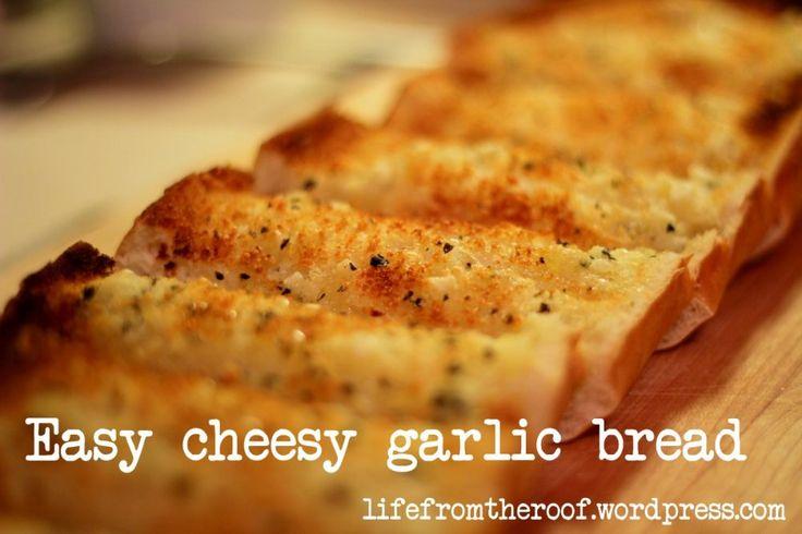 Jenni's Easy-Cheesy Garlic Bread | Side Dishes | Pinterest