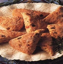Scottish Oat Scones with dried fruit. | Favorite Recipes | Pinterest