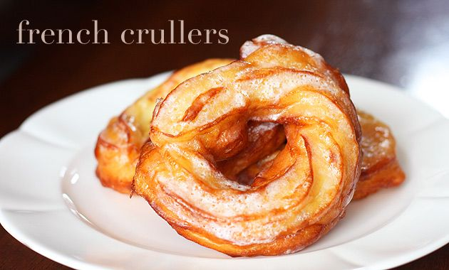 Homemade French crullers | Sweet Treats --Cakes, Cookies , Bars,Pies ...