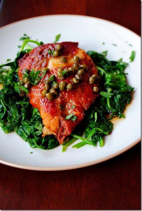 Chicken Prosciutto Picatta | Food! | Pinterest