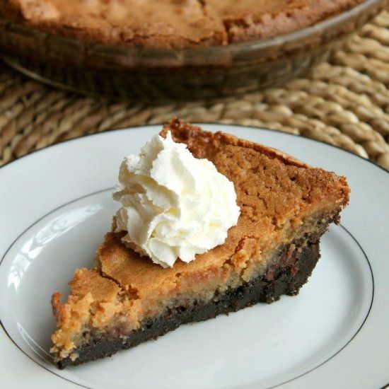 Peanut Butter Chocolate Chip Chess Pie | Desserts | Pinterest