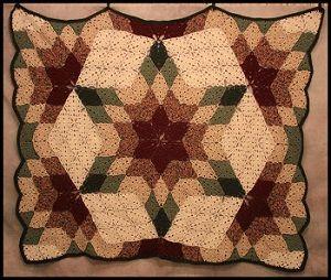 Crochet Prairie Star Afghan Patterns How to crochet ...