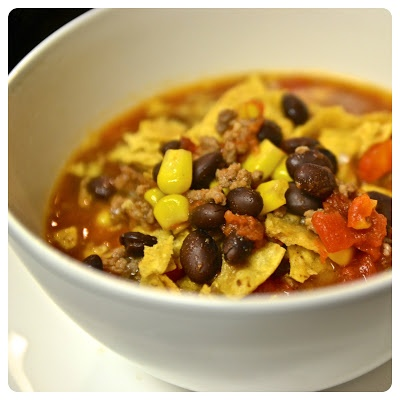 Tortilla Soup with Black Beans | Food and Kitchen. | Pinterest