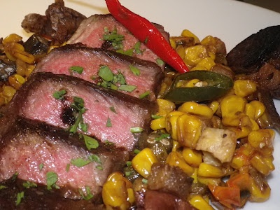 Grilled Short Ribs With Autumn Succotash | Food | Pinterest