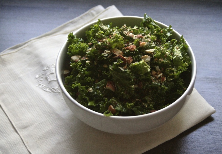 Dr Weil's Kale Salad Recipe — Dishmaps