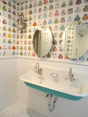 Love this kids Bathroom Ideas | Cool Bathrooms for Kids | HouseLogic Bath Tips