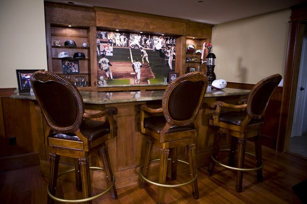 Upscale Man Cave Ideas : Man caves from jason cameron