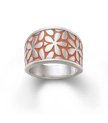 James Avery Enamel Spring Blossom Ring