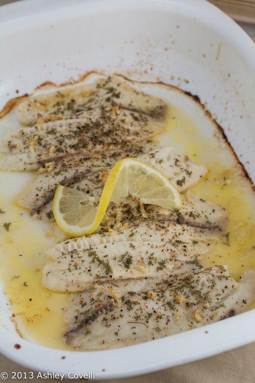 Lemon Garlic Tilapia | FOod | Pinterest