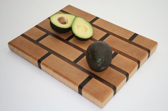 Unique Chopping Block End Grain Cutting Board Large
