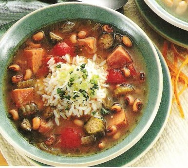 Black-Eyed Peas and Pork Gumbo | Healthy Recipes | Pinterest