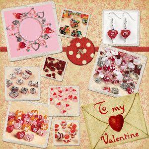 jewelry on valentine day