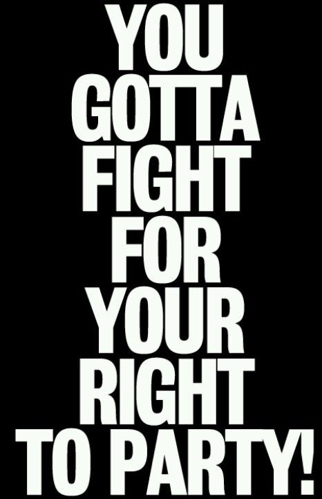 fight for your right lyrics: