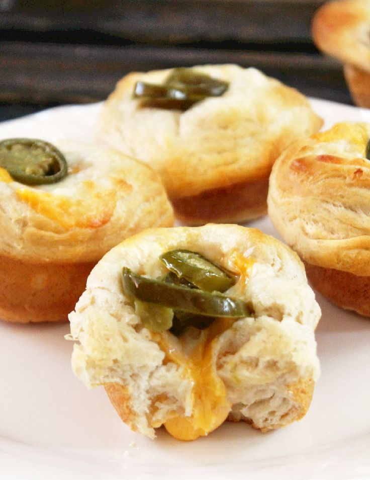 Jalapeno and Cheese Biscuit Popovers | Breakfast and Brunch | Pintere ...