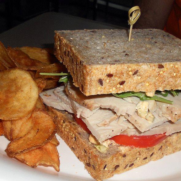 Buffalo-Style Turkey Sandwich @ Landscape Of Flavors