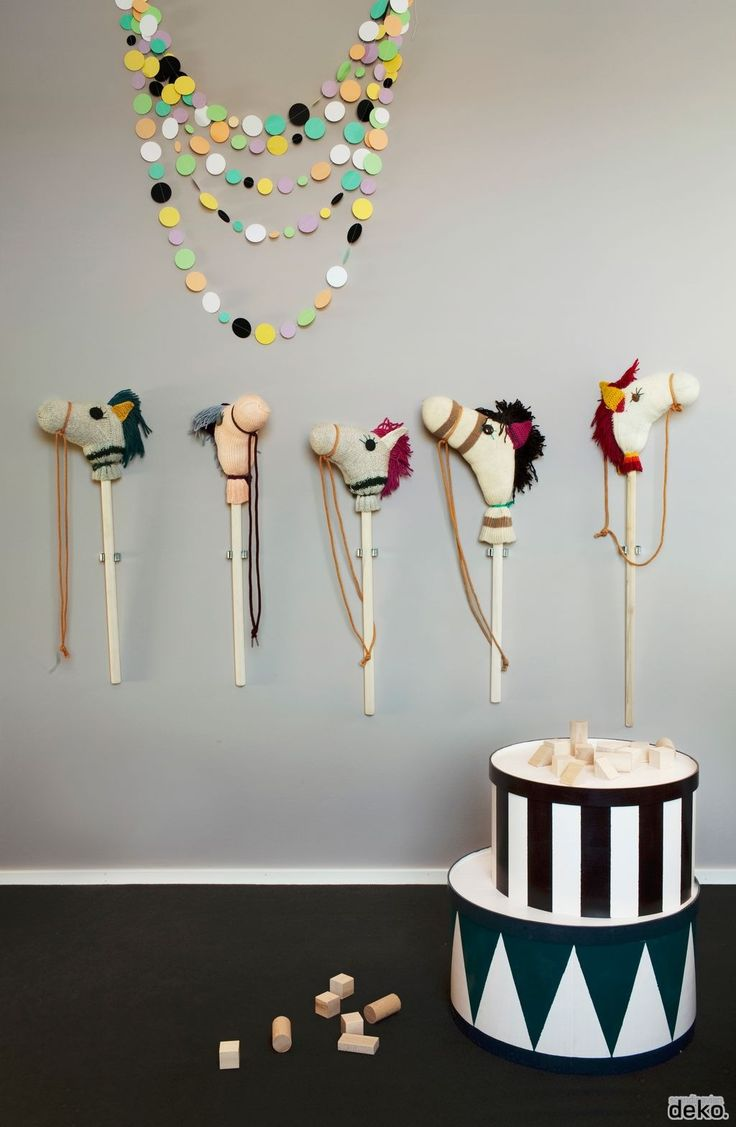 Kids room horse || Scandinavian deko