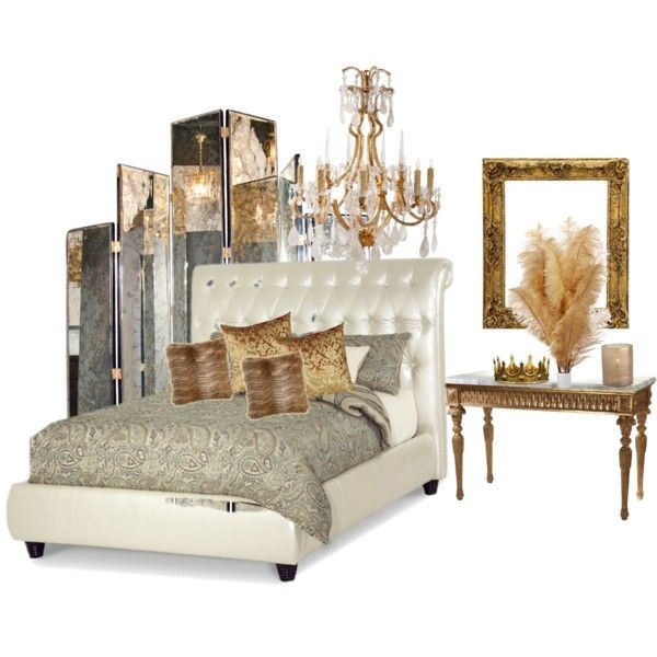 hollywood glam bedroom headboard interior pinterest