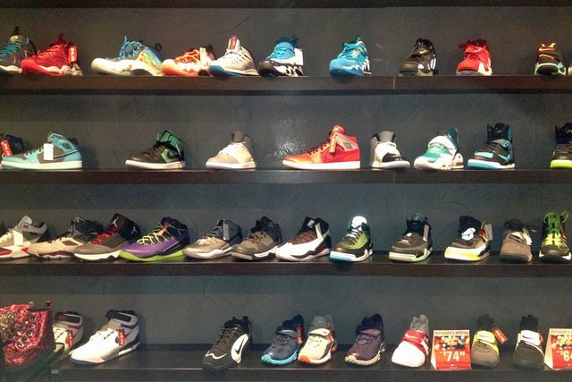 Long lines of black folk could be seen at local shoe stores to buy the
