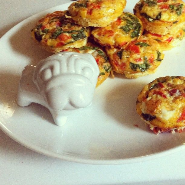 scrambled egg muffins recipe. I'm always looking for make-ahead, non ...