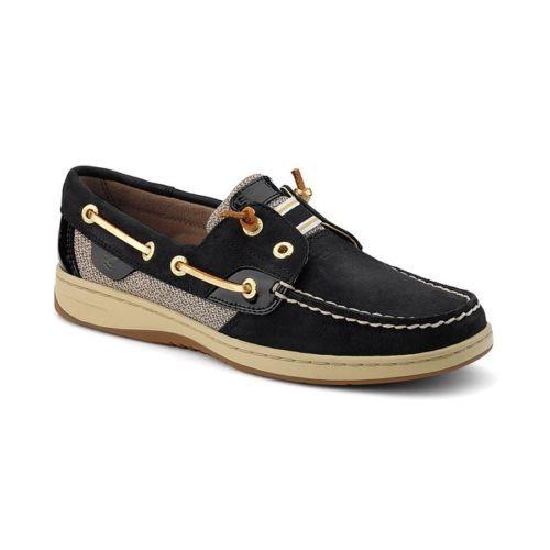 Sperry Topsider Rainbowfish Black Slip on Women's Shoes 9207150 BNIB