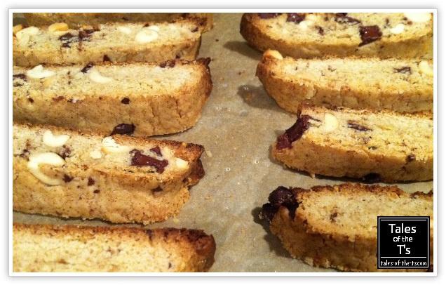 Peanut butter chocolate chip biscotti | Induldge | Pinterest