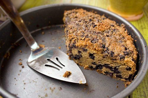 Gluten Free Blueberry Crumb Cake   Gluten Free is Fine By Me   Pinter ...