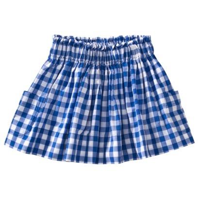 $6 - Target newborn gingham skirt
