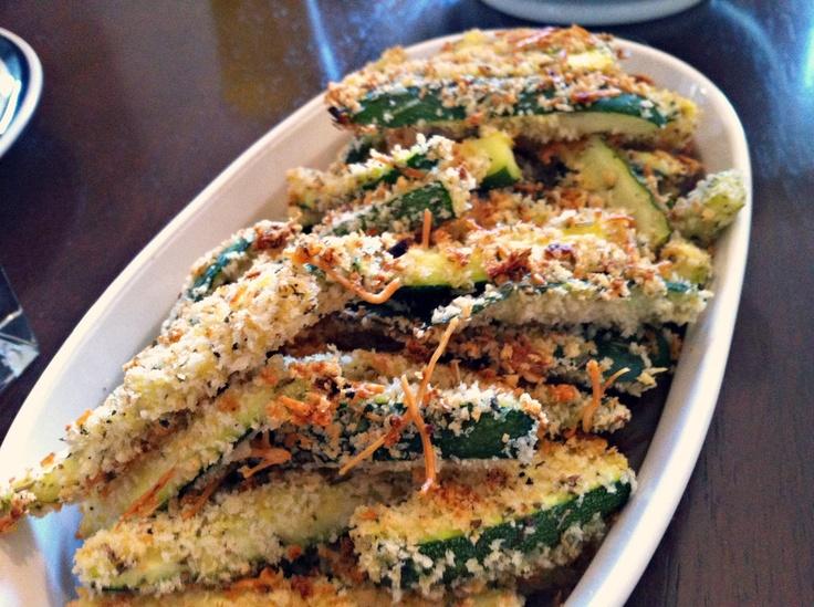 Baked Zucchini Fries & Sweet Onion Sauce | foods | Pinterest