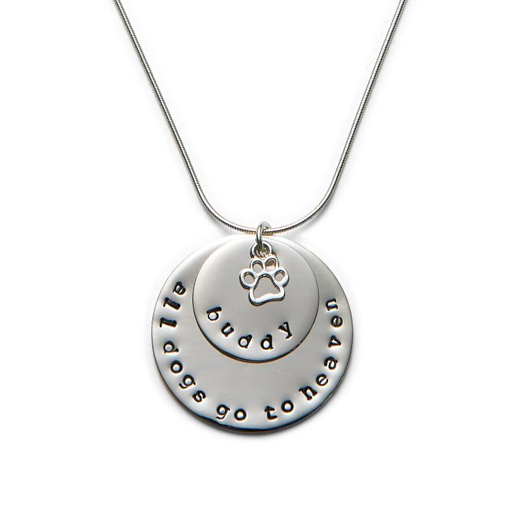 All Dogs Go To Heaven Necklace