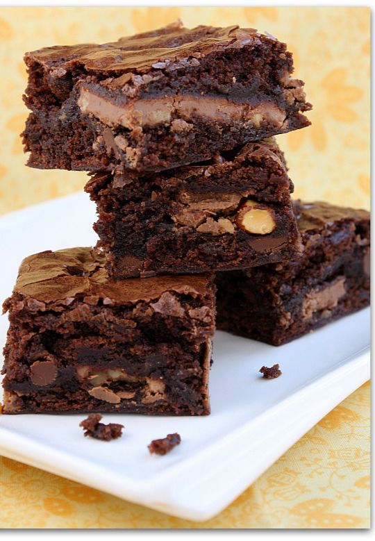 Symphony Brownies :: Pretty much the best brownies recipe EVER! And ...
