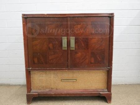 Philco Radio Record Player In Cabinet Diy Craft Reuse