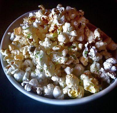 KITCHEN FIDDLER : Chile-Lime Popcorn | Snacks | Pinterest