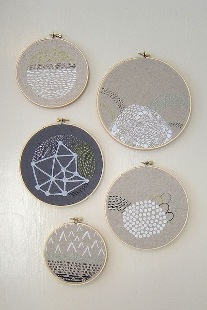 Modern Embroidery  Handmade Goodness  Pinterest
