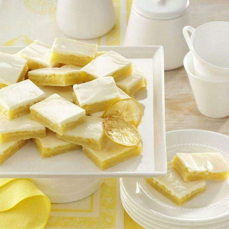 Shortbread Lemon Bars recipe courtesy of Margaret Peterson