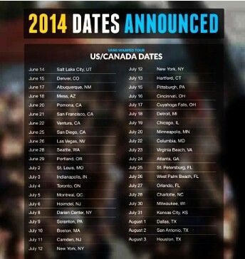 ... Vans Warped Tour 2016 Announces Tour Date Line-up, Launch of 22nd Year