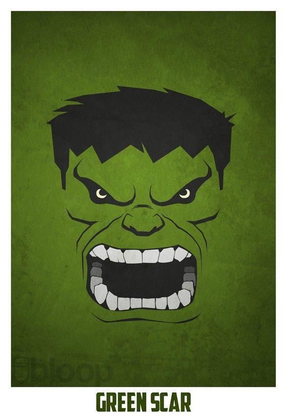 Hulk - Minimalist version