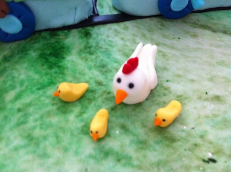 fondant chicken