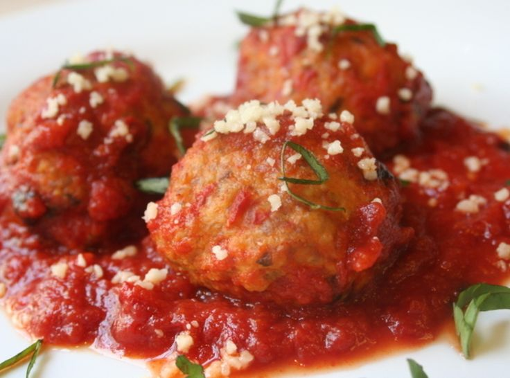 Homemade Meatballs & Sauce | Recipe