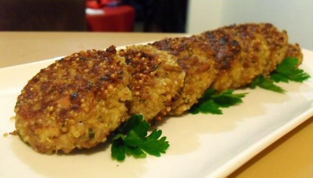 little quinoa and tuna patties | two sweet potatoes