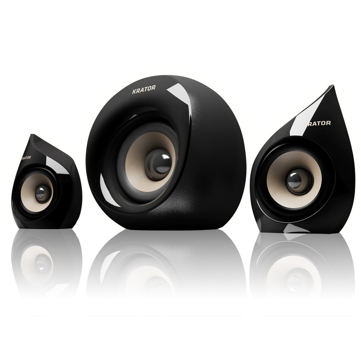 Pc Speakers Just Got Cool