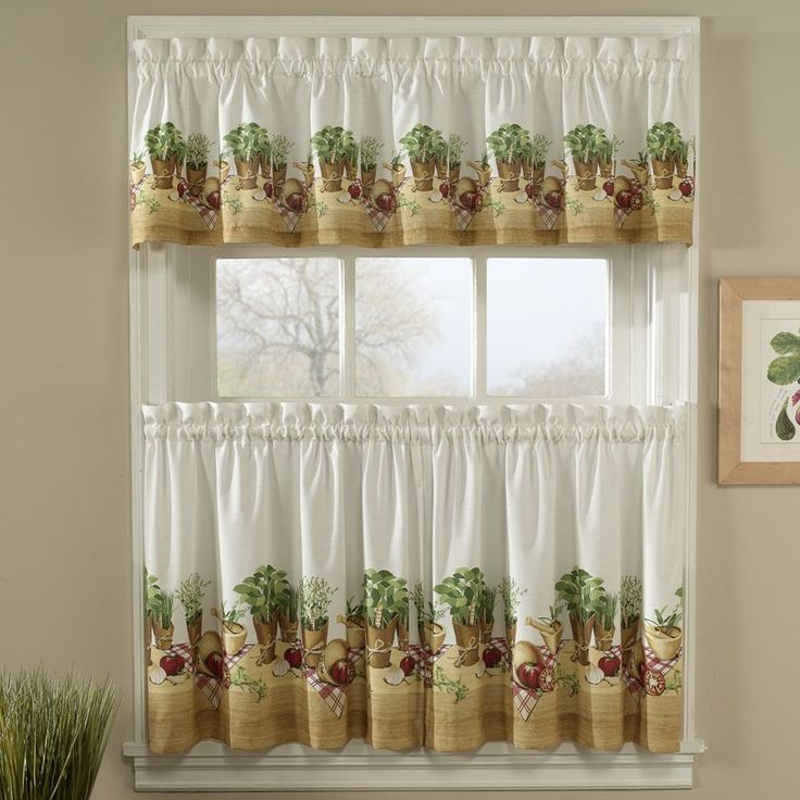 To make the kitchen more beautiful | Kitchen Curtains | Pinterest